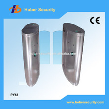 High quality CE Approved Stainless Steel Swing Turnstile,Electronic security entrance turnstile sliding gate HB-PY12