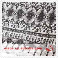 Ready Cargo Stock lot in mesh cotton Rachel black Fabric
