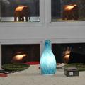 decoración de la mesa lámpara led inalámbrico con batería inteligente de iluminación