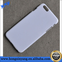 plain hard plastic phone cases for iphone 6