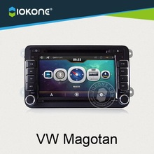 Wholesale touch screen in-dash 2 din car dvd player for VW magotan with DVD, GPS, BT, FM/AM, RDS, IOPD, 3G Function