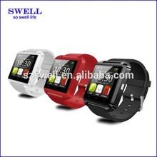 2014 new fashion touch screen cheap smart watch smart watch bluetooth phone U8
