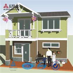 Fast Easy Construction Prefab House or Villas