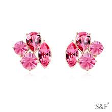 16968 fashion women shamballa earring