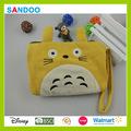 Chine fournisseur mode sac nouveau style mignon Totoro portefeuille, Belle coton chat sac