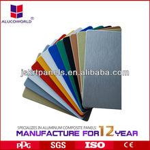 aluminum composite panel/ exterior sign board/advertisement panel