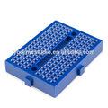 El precio de fábrica universal auto- adhesivo azul mini protoboard para las piezas de bricolaje