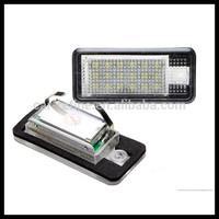 Error free LED Number License Plate Light For AUDI A3 8P A6 4F A4 B6 Q7 TDI