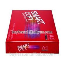 excellent smart copy a4 pape & office a4 photocopier paper price per ton