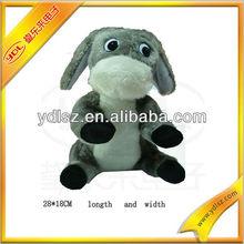 Handmade custom soft stuffed animal elephant sound plush toy