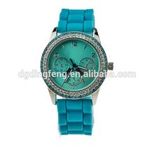 vogue quartz watch, silicone vogue watch