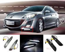 hot sale LED Daytime Running Light For Mazda 3 Axela Car Fog Lamp DRL 2010 2011 2012 2013