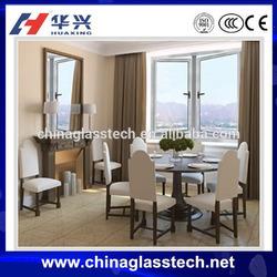 Size customized Cheap Casement Windows fixed glass double pane aluminum window louver frames