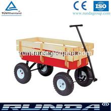 beach wagon cart with small pneumatic wheel
