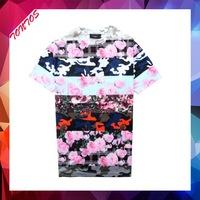 cut and sew bangkok wholesale custom all over print t-shirt