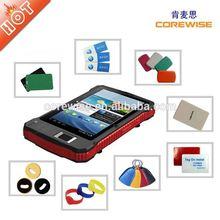Industrial Android ultra+digital+de+tablet with Fingerprint RFID Reader, QR Code Scanner(A370)