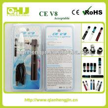 2014 Lowest price CE V8 blister pack electronic cigarette ce v8 blister packing