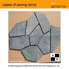 types of paving stone,granite,cobble,slate