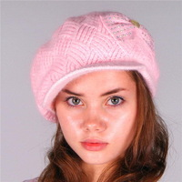 High quality antique lovely wholesale knitted hat with beard