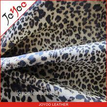 new foiled leopard pu artificial leather for bags, fashion pu leathereete for sofa,