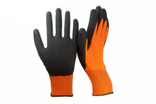 wholesale products blue latex coated gloves