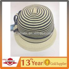 Female lace brim cloche hat