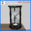 Home Garden Desktop Wood Decorative Hourglass Sand Timer 15 minute