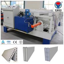 Green building materials supplier sandwich wall panel machine for prefab house wall