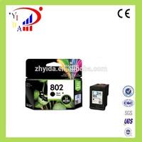 100%New original ink cartridge for hp 802 for HP Deskjet 1050/2050/1000