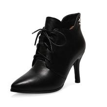 2014 Most Popular Fashion Lady Shoe Leather Shoe Woman