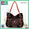 Customized ladies india tribal bags pu leather vintage ladies big shoulder bag wholesale
