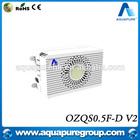 Built-in fan 500mg/h ozone tube generators box EMC passed