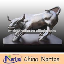 antique bronze bull sculpture NTBH-B001