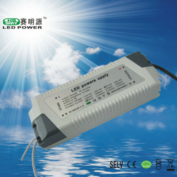 12W 18W 20W 30W 50w 60w Led Driver with 300ma Output Constant Current with CE, RoHS output voltage 25-60v single output