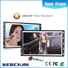 open frame display 15 inch ads player digital signage lcd landscape