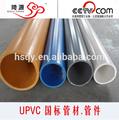 de plástico de pared gruesa tubería de pvc 200mm de tubería de pvc precio