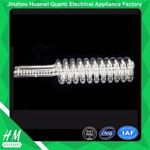 High Precision Clear Quartz Glass Coil Tube