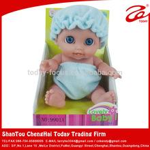9 inch kid love doll/pvc doll
