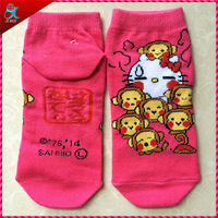 cute girls monkey socks