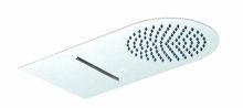 2014 new design 304 stainless steel double top rain shower DPG9008