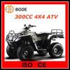 300CC 4x4 ATV Quad Bike EEC/EPA