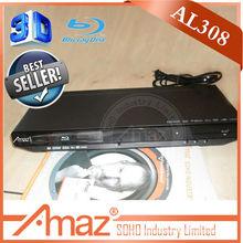 2014 New Design hot sales 3D bluray dvd media player