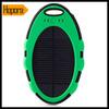 Pretty Waterproof solar power bank 5000mAh Charger