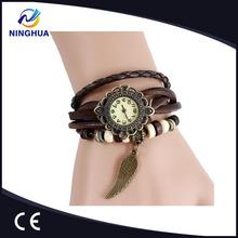 Alibaba & Aliexpress Vintage Watch Women Bracelet & Bangle Wristwatches Wing Pendant Clock
