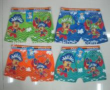 Cartoon print Cheap Boys Short Boxers