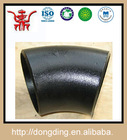 ansi standard carbon steel seamless reducing 45 degree pipe elbow dimensions