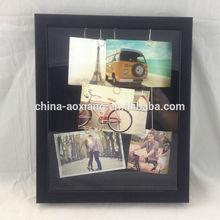 Decoración del partido de la foto del marco de bricolaje colgante plateado Clips con - 5 P religiosa marcos de cuadros