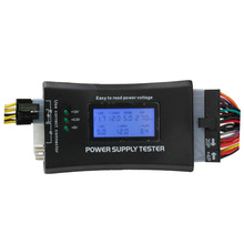 PC 20/24 Pin PSU ATX SATA HD 12V Power Supply Tester With Competitive Price