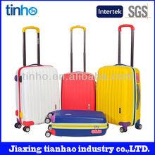 Colorful kids cartoon luggage