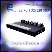 Ejoin dual sim card modem 32 Ports Gsm goip 128 sims